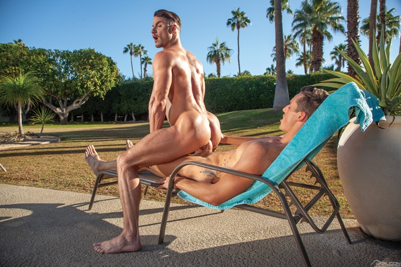 Gay Porn Pics 014 Steven Lee Skyy Knox muscle stud smooth ass tongue rimjob FalconStudios - Skyy Knox, Steven Lee