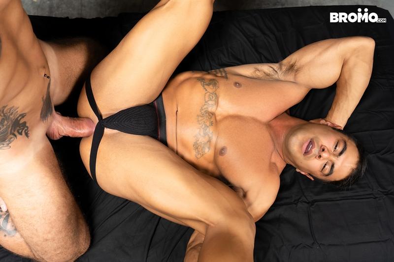 Gay Porn Pics 016 Draven Navarro Jason Collins man blowjob fat cock big mucle ass Bromo - Jason Collins, Draven Navarro