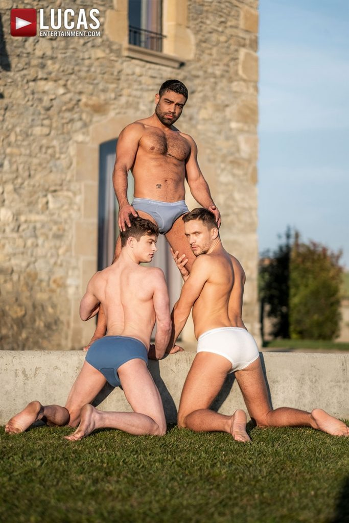 Gay Porn Pics 004 Muscle boys Andrey Vic Wagner Vittoria dominate sexy stud Ruslan Angelo ass holes LucasEntertainment 683x1024 - Andrey Vic, Wagner Vittoria, Ruslan Angelo