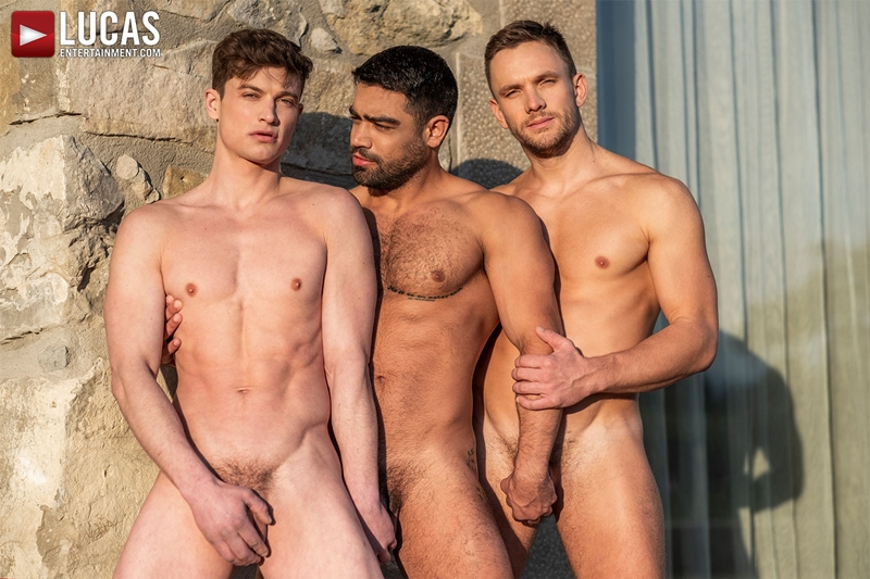 Gay Porn Pics 005 Muscle boys Andrey Vic Wagner Vittoria dominate sexy stud Ruslan Angelo ass holes LucasEntertainment - Andrey Vic, Wagner Vittoria, Ruslan Angelo