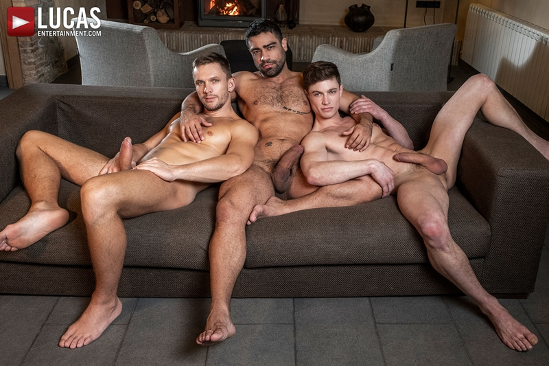 Gay Porn Pics 009 Muscle boys Andrey Vic Wagner Vittoria dominate sexy stud Ruslan Angelo ass holes LucasEntertainment - Andrey Vic, Wagner Vittoria, Ruslan Angelo