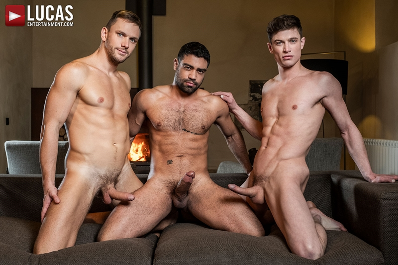 Gay Porn Pics 010 Muscle boys Andrey Vic Wagner Vittoria dominate sexy stud Ruslan Angelo ass holes LucasEntertainment - Andrey Vic, Wagner Vittoria, Ruslan Angelo